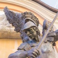 Dettaglio della fontana di S.Michele Arcangelo - Antonella Balboni - Cento (FE)