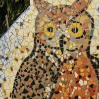 Gufo mosaico - Antonella Balboni - Cento (FE)