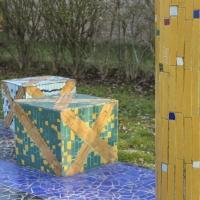 Cubi con mosaici - Antonella Balboni - Cento (FE)