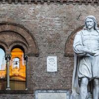 La statua del Guercino a Cento - Antonella Balboni - Cento (FE)