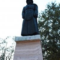 Statua celebrativa di Ugo Bassi - Ana-Maria Iulia Radoi - Cento (FE)