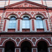 Facciata frontale del Teatro Borgatti - Ana-Maria Iulia Radoi - Cento (FE)