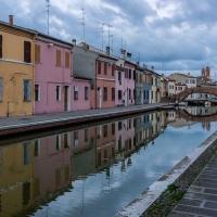 Verso sera - Centro storico di Comacchio - Vanni Lazzari - Comacchio (FE)