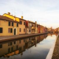 Canale verso Ponte San Pietro - Boschettim65 - Comacchio (FE)