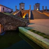 Luci ed ombre nell'ora blu - Vanni Lazzari - Comacchio (FE)