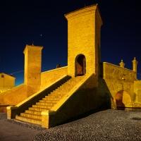 Trepponti -- notturno - Vanni Lazzari - Comacchio (FE)