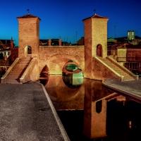 Il Trepponti nell'ora blu - Vanni Lazzari - Comacchio (FE)