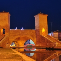 Trepponti by night - Luca Spinelli Cesena - Comacchio (FE)