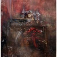 Giovanni boldini, l'orologio lugi XVI nella stanza da letto, 1866-1905 ca, acquerello e tempera - Sailko - Ferrara (FE)