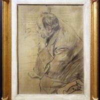 Giovanni boldini, ritratto di edgar degas, 1885-90 ca, carboncino su tela 02 - Sailko - Ferrara (FE)