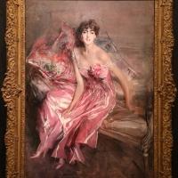 Giovanni boldini, la signora in rosa (ritratto di olivia concha de fontecilla), 1916, 01 - Sailko - Ferrara (FE)