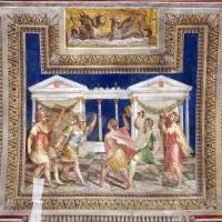 Bastianino, ludovico settevecchi e leonardo da brescia, salone dei giochi nel castello estense, 1570, 03 combattimenti tra gladiatori reziari e secutores - Sailko - Ferrara (FE)