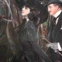 Giovanni boldini, la passeggiata al bois de boulogne, 1909 ca. 02 - Sailko - Ferrara (FE)