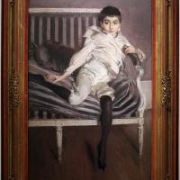 Giovanni boldini, ritratto del piccolo subercaseaux, 1891, 01 - Sailko - Ferrara (FE)