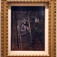 Giovanni boldini, interno dello studio con il ritratto della giovane erràzuriz, 1892 ca - Sailko - Ferrara (FE)