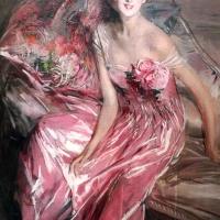 Giovanni boldini, la signora in rosa (ritratto di olivia concha de fontecilla), 1916, 02 - Sailko - Ferrara (FE)