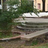 Panchina ex comando Provinciale Vigili del Fuoco Ferrara - Nicola Quirico - Ferrara (FE)