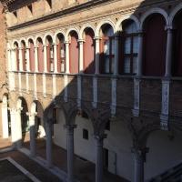 Courtyard of Palazzo Costabili - Alison Mary Lazzari - Ferrara (FE)