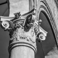 Palazzo Costabili (Ferrara) - Capitello 14 B&N - Nicola Quirico - Ferrara (FE)