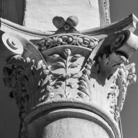 Palazzo Costabili (Ferrara) - Capitello 15 B&N - Nicola Quirico - Ferrara (FE)