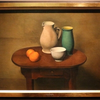 Alexander kanoldt, tavolo dello studio, 1924 (hagem osthaus museum) - Sailko - Ferrara (FE)