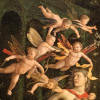 Andrea mantegna, minerva scaccia i vizi dal giardino delle virtù, 1497-1502 ca. (louvre) 14 - Sailko - Ferrara (FE)