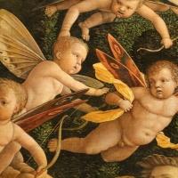 Andrea mantegna, minerva scaccia i vizi dal giardino delle virtù, 1497-1502 ca. (louvre) 16 - Sailko - Ferrara (FE)