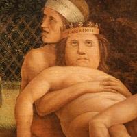 Andrea mantegna, minerva scaccia i vizi dal giardino delle virtù, 1497-1502 ca. (louvre) 38 - Sailko - Ferrara (FE)