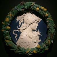 Bottega di andrea della robbia, scipione l'africano, 1500-10 ca. (vienna, khm) 01 - Sailko - Ferrara (FE)