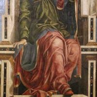 Bottega di cosmè tura, musa urania, 1450 ca., dallo studiolo di belfiore, 02 - Sailko - Ferrara (FE)
