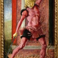 Cosmè tura, san giorgio, 1460-65 ca. (coll. cini) - Sailko - Ferrara (FE)