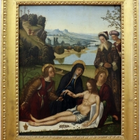 Domenico panetti, compianto sul cristo morto, 1480-1500 ca - Sailko - Ferrara (FE)