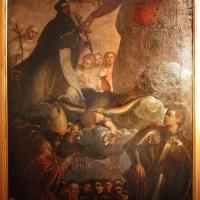 Domenico tintoretto, madonna dei rosario coi ss. domenico, giorgio e maurelio, da s. carlo a ferrara - Sailko - Ferrara (FE)