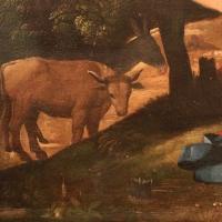 Dosso dossi, natività, 1519, 02 bue - Sailko - Ferrara (FE)