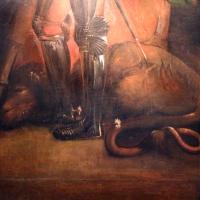 Dosso dossi, san giorgio, 1513-20, dal polittico costabili in s.andrea a ferrara 04 drago - Sailko - Ferrara (FE)