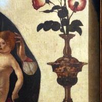 Ercole de' roberti, madonna col bambino tra due vasi di rose, 04 - Sailko - Ferrara (FE)