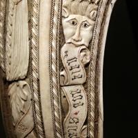 Friuli o tirolo, sella da parata con le armi di ercole I d'este, post 1474 (galleria estense) 06 - Sailko - Ferrara (FE)