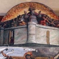 Garofalo, allegoria dell'antico e nuovo testamento con trionfo della chiesa sulla sinagoga, 1523, da s. andrea a ferrara 02 - Sailko - Ferrara (FE)