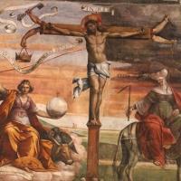 Garofalo, allegoria dell'antico e nuovo testamento con trionfo della chiesa sulla sinagoga, 1523, da s. andrea a ferrara 07 - Sailko - Ferrara (FE)
