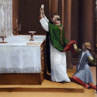 Garofalo, messa di san nicola da tolentino, da s. andrea a ferrara 02 - Sailko - Ferrara (FE)