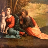 Garofalo, riposo durante la fuga in egitto, 1515-30 ca. 02 - Sailko - Ferrara (FE)