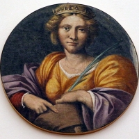 Garofalo, santa caterina d'alessandria, dal convento di s. giorgio a ferrara - Sailko - Ferrara (FE)