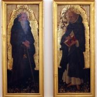 Giovanni da modena, santi antonio abate e domenico, 1410-50 ca. 01 - Sailko - Ferrara (FE)