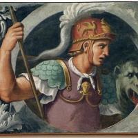 Girolamo da carpi, san giorgio, dal convento di s. giorgio a ferrara - Sailko - Ferrara (FE)