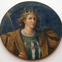 Girolamo da carpi, san luigi IX di francia, dal convento di s. giorgio a ferrara - Sailko - Ferrara (FE)