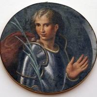 Girolamo da carpi, santo guerriero, forse sebastiano, dal convento di s. giorgio a ferrara - Sailko - Ferrara (FE)