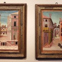 Girolamo da cotignola, due vedute di città, 1520, 01 - Sailko - Ferrara (FE)