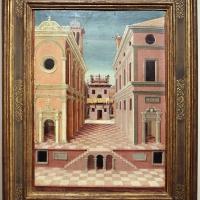 Girolamo da cotignola, due vedute di città, 1520, 02 - Sailko - Ferrara (FE)