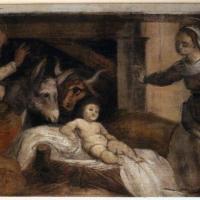 Giuseppe mazzuoli detto il bastardo, adorazione del bambino, 1579-80, dalla chiesa del gesù a ferrara 02 - Sailko - Ferrara (FE)