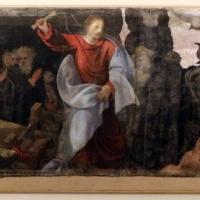 Giuseppe mazzuoli detto il bastardo, cacciata dei mercanti dal tempio, 1579-80, dalla chiesa del gesù a ferrara 0 - Sailko - Ferrara (FE)